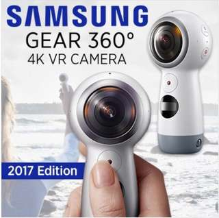 Samsung gear 360 (2017 Edition) 4K camera. Brand new in box.