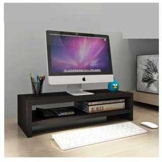 Good Quality 2 Levels Wooden LCD/LED monitor Ergonomic Stand