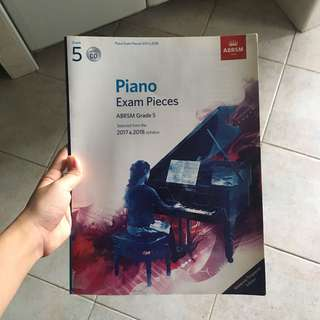 piano grade 5 exam book