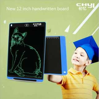 CHUYI12 inch liquid crystal board children drawing office draft Electronic LCD handwriting board