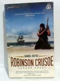 Novel Robinson Crusoe by Daniel Defoe