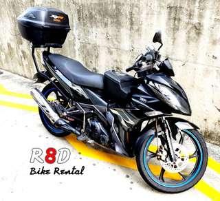 X1R rental bike