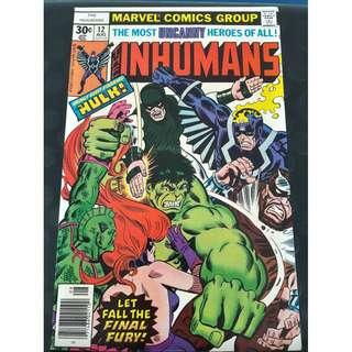 The Inhumans #12 (Final issue)