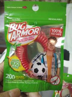 TAKE ALL BUG ARMOR ALL NATURAL INSECT REPELLENT BANDS FROM U.S