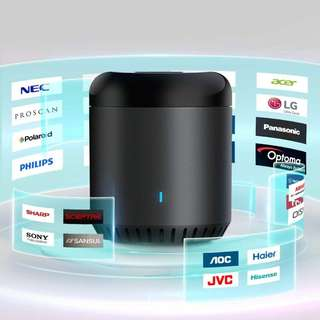 1036.  BroadLink RM Mini3 Wi-Fi One in All Universal Remote, Control TV PVR VDO DVD CD AUD SAT, Black