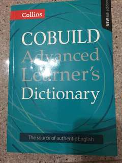 Collins COBUILD Advanced Learner's Dictionary (Eighth)