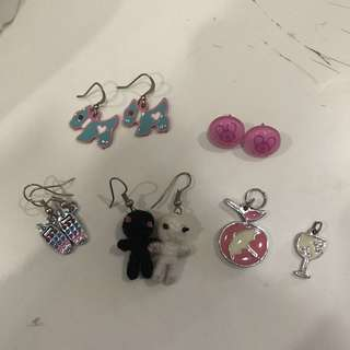 Earrings and Charms