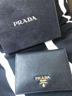 Prada Wallet 黑金