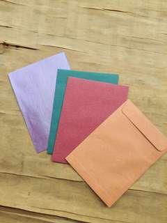 Summer Series A5 Envelopes 100S (Jet Red, Pine Green, Sunburst Orange & Line Periwinkle)