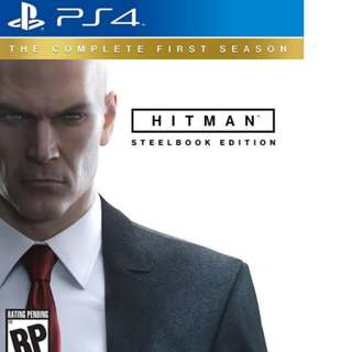 BUYING: Hitman Steelbook Edition PS4