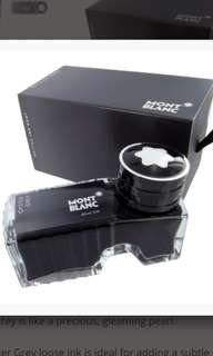 Mont blanc fountain pen ink