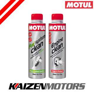Motul Engine Clean With Fuel System Clean