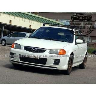 【FB搜尋桃園阿承】馬自達 超人氣ISAMU GENKI 2007年 1.6 白色 二手車 中古車