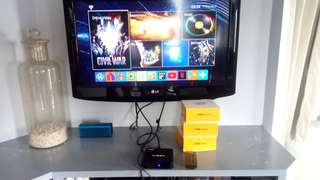 Fully Programmed and Loaded Android TV box