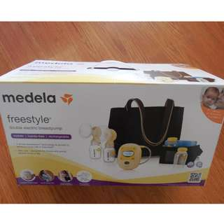 Brand New Medela Freestyle Double Electric Breastpump--Unopend Box