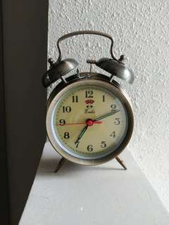Vintage Chrome Alarm Clock