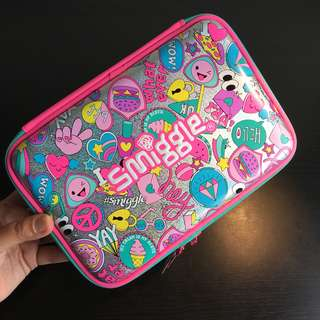 [readystock] Smiggle Large hardtop double pencil case
