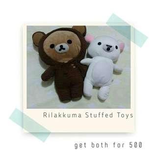Rush Sale! Rilakkuma Stuffed Toys