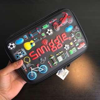 [readystock] Smiggle Large hardtop double pencil case