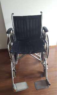 Used heavy wheelchair see description