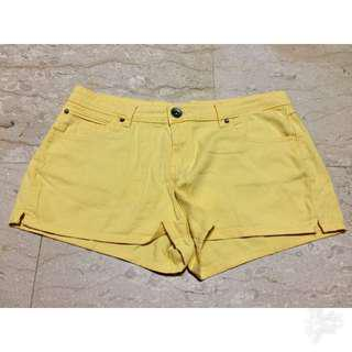 CO Yellow Shorts