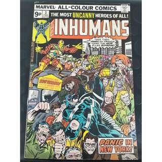 The Inhumans #3 (1st app: Shatterstar & Falzon)