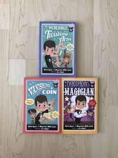 the Magic Shop: the Vanishing Coin / the Incredible Twisting Arm / the Disappearing Magician By Kate Egan with Magician Mike Lane