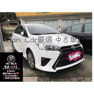 豐田 TOYOTA YARIS 1.5cc//👀👀👀想找什麼車就來問我 不怕你問 只怕你不問❤