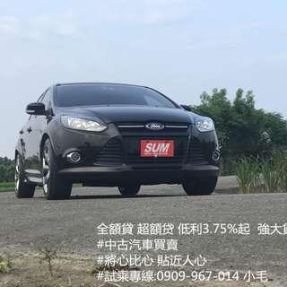 2015年 福特 FOCUS 柴油神車 持雙證件 即可辦理全額贷 超額贷 歡迎來電 試乘 賞車~
