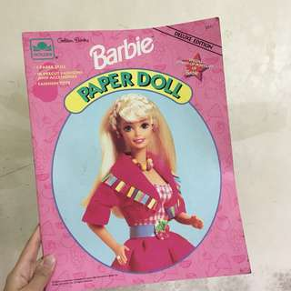 Vintage Barbie Paper Doll
