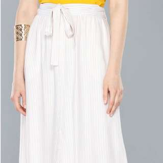 Max Skirt Stripe Cream
