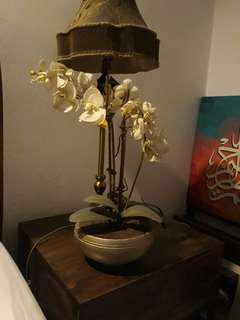 Beautiful artificial white orchids