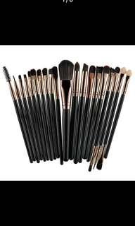20Pcs Professional Makeup Brushes Set Powder Foundation Eyeshadow Make Up Brushes Cosmetics Soft Synthetic Hair