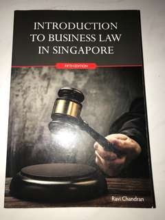 Introduction To Business Law In Singapore Fifth Edition