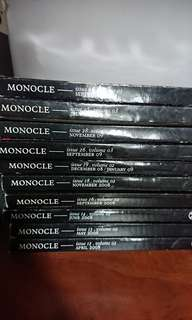 Past Monocle Issues
