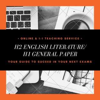 H2 ENGLISH LITERATURE / H1 GENERAL PAPER