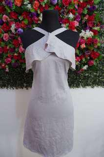 Silk Silver Dress