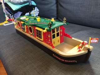 森林家族 絕版 船 Sylvanian Families Boat