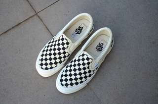 "Vans Slip On OG Chekerboard "" Black White """