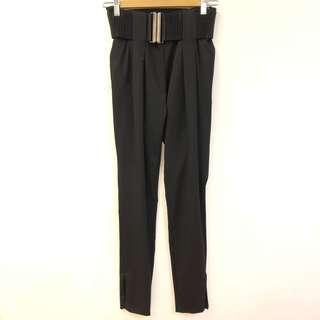 New Pierre Balmain black pants size 24/38
