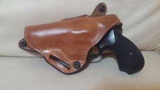 真皮 CID 左手槍套