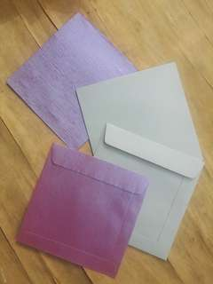 "PREMIUM SQUARE ENVELOPES 100S (6.75"" x 6.75"")"