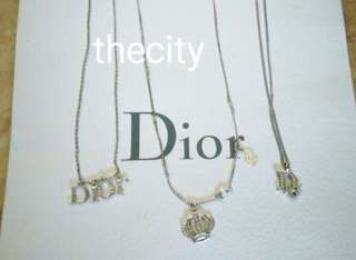 AUTHENTIC DIOR NECKLACES - RM 190 EACH