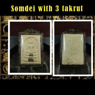 Somdei with 3 takrut