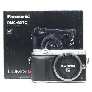 Panasonic Lumix GX7 Body Only (Silver)