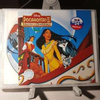 VCD - POCAHONTAS 2: JOURNEY TO A NEW WORLD (1998) disney animation adventure drama