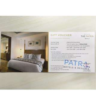 jual murah! voucher the patra bali resort & villas