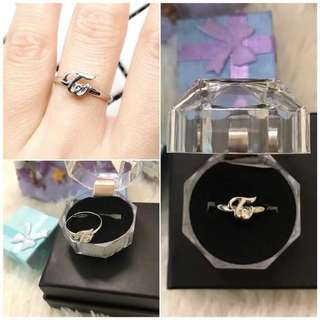 [READYSTOCK]Twice Stainless Steel Ring(With box)