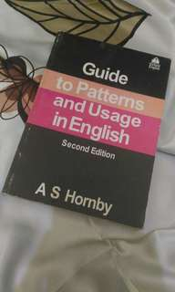 Guide to Patterns and Usage in English, A.S. Hornby