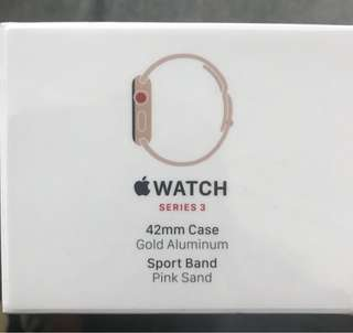Apple Watch Series 3 LTE 42mm(GPS+Cellular)